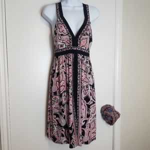 International Concepts Dress Criss Cross Back sz M